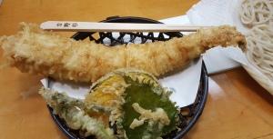 Anago tempura!